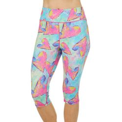 Leoma Lovegrove Womens Art Throb Pull On Capris