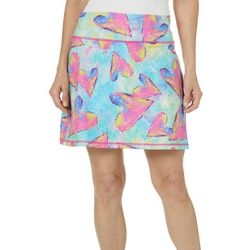 Leoma Lovegrove Womens Art Throb Pull On Skort