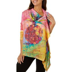 Leoma Lovegrove Womens Love Thy Neighbor Draped Cardigan