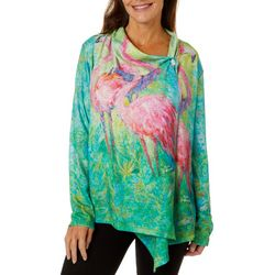 Leoma Lovegrove Womens The Soiree Draped Cardigan