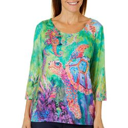 Leoma Lovegrove Womens Chaperone Scoop Neck Top