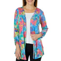 Leoma Lovegrove Womens Art Throb Lace Back Cardigan