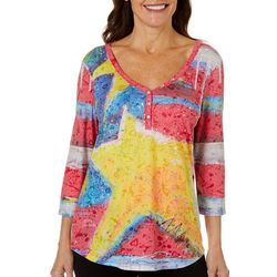 Leoma Lovegrove Womens Forever Burnout Top