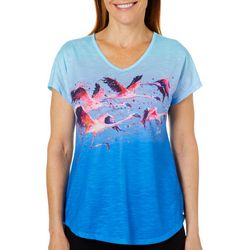 Leoma Lovegrove Womens Rush Hour Ombre Top