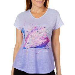 Leoma Lovegrove Womens Krystel Ombre Top