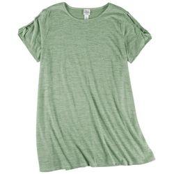 Ruby Road Plus Cut Out Short Sleeve T-Shirt Dress