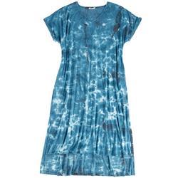 Plus Pool Reflexion T-Shirt Dress