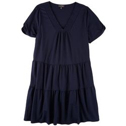 Luxology Plus  2 Tiered Dress
