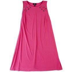 MSK Plus All Pink T-Shirt Dress