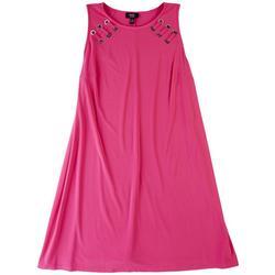 Plus All Pink T-Shirt Dress