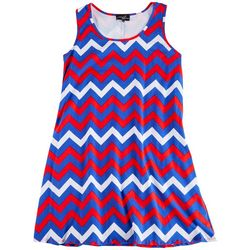 Lexington Avenue Plus Electric Americana Dress