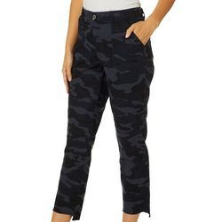 Democracy Womens Ab-solution Camouflage High Rise Capris