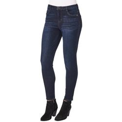 Democracy Womens Ab-solution Solid Fitted Denim Jeans