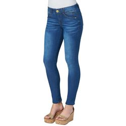 Democracy Womens Ab-solution High-Rise Solid Denim Jeans