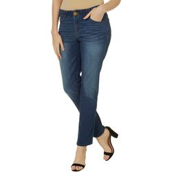 Democracy Womens Ab-solution Straight Leg Denim Jeans