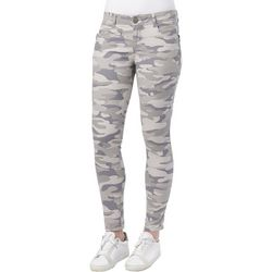Democracy Womens Ab-solution Camouflage Print Jeans