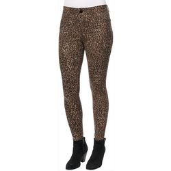 Democracy Womens Ab-solution Cheetah Print Jeans