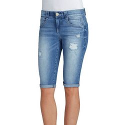 Democracy Womens Ab-solution Denim Burmuda Shorts