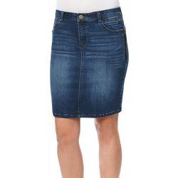 Democracy Womens Ab-solution Denim Skirt