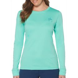 Guy Harvey Womens Performance Long Sleeve Top