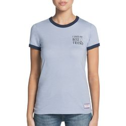 Skechers Womens I Saved My Best Friend Ringer T-Shirt