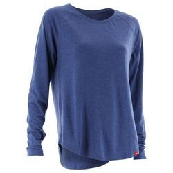 Huk Womens Solid Relaxed Long Sleeve Top