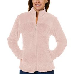 Jason Maxwell Womens Mock Neck Full Zip Jacket