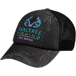 Realtree Womens Fishing Pro Series Logo Trucker Hat