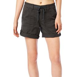 Supplies by Unionbay Womens Marty Twill Roll Cuff Shorts