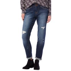 Supplies by Unionbay Womens Marni Distressed Jeans