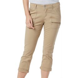 Supplies by Unionbay Womens Norma Solid Capris