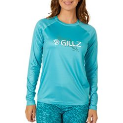 Gillz Womens UV Here Fishy Fishy Long Sleeve