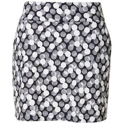 Coral Bay Golf Petite Dot Print Pull On Skort