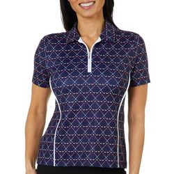 Coral Bay Golf Petite Golf Club Polo Shirt