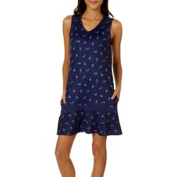 Lillie Green Petite Tee Time Sleeveless Dress