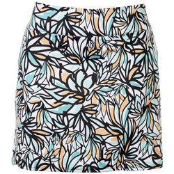 Coral Bay Golf  Petite Abstract Print Skort