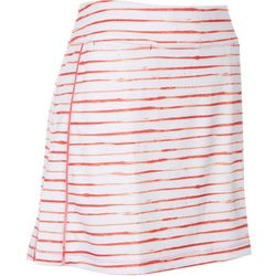 Coral Bay Golf Petite Striped Player Skort
