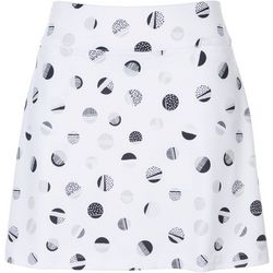 Coral Bay Golf Petite Pleated Dot Skort