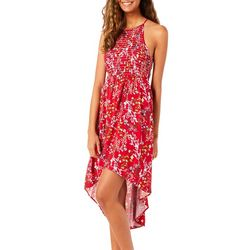 Inspired Hearts Juniors Floral Frenzy High-Low Sundress