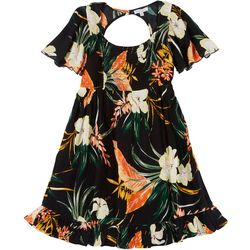 Patrons of Peace Juniors Tropical Smocked Dress