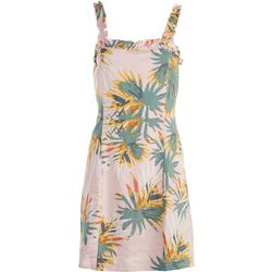 Sadie & Sage Juniors Tropical Sleeveless Dress