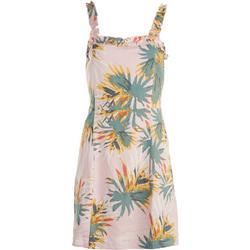 Sadie & Sage Juniors Tropical Sleeveless Dress