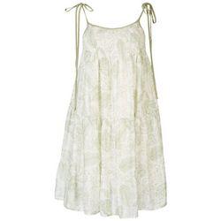 ILLA ILLA Juniors Sleeveless Ruffle Dress