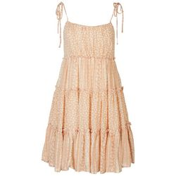 ILLA ILLA Juniors Thread Babydoll Dress