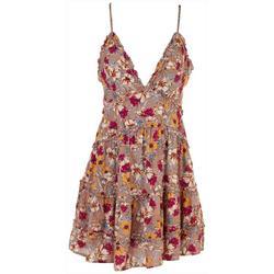 Womens Beachy Printed Dress