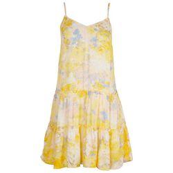 As U Wish Juniors Tie-Die Tiered Summer Dress