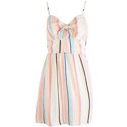 As U Wish Juniors Striped Cutie Dress
