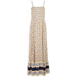 As U Wish Juniors Multi Pattern Maxi Dress