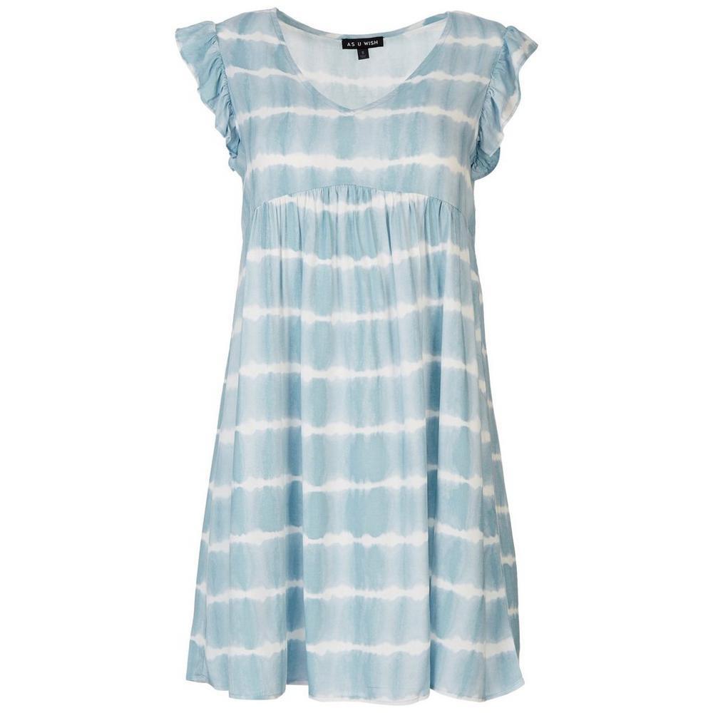 Juniors Tie-Dye Babydoll Dress   Bealls