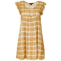 Juniors Tie-Dye Babydoll Dress